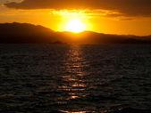 Sunset at Puntarenas — Stock Photo
