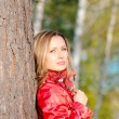 Woman in red — Stock Photo #1519486