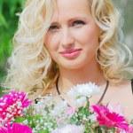 Portrait of beautiful woman — Stock Photo #1519570