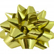 Royalty-Free Stock Photo: Gold bow