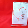 love note — Stock Photo