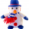 Toy a snowman — Stock Photo #2001764