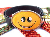 Smiling belt — Stock Photo