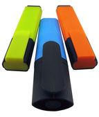 Three markers. — Stock Photo