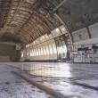 Cargo area of a big airplane — Stock Photo