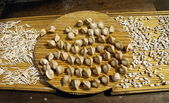 Dumpling ready to cook — Stock Photo