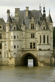 Castle chenonceau — Stock Photo