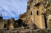 Bastion at le baux de provence in france — Stock Photo