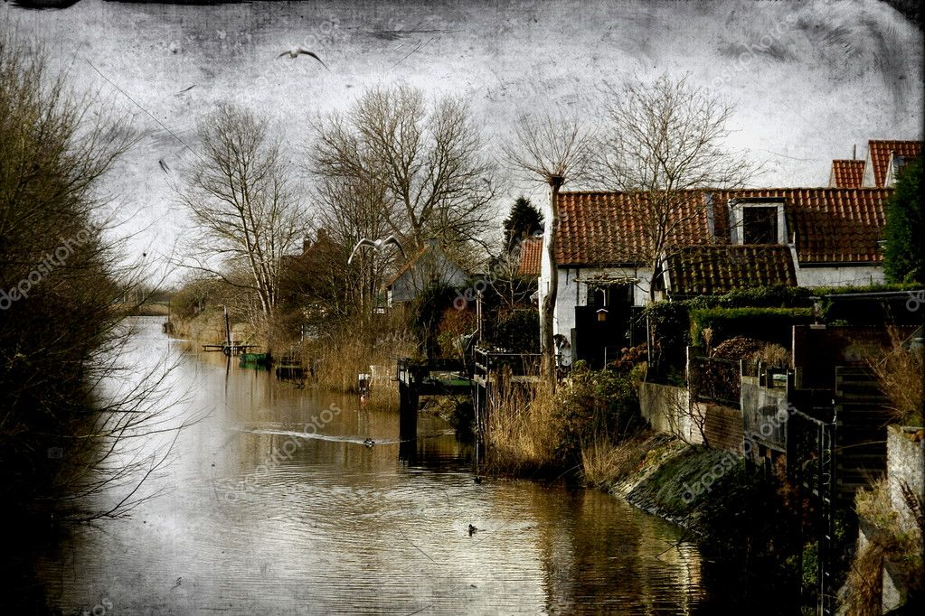 Vintage landscape — Stock Photo © scrabble #1513115