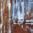 Wooden texture with paint - Stock Photo