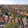 Small village on the dutch countrysite - Stock Photo
