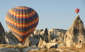 Hot aaair balloon — Stock Photo