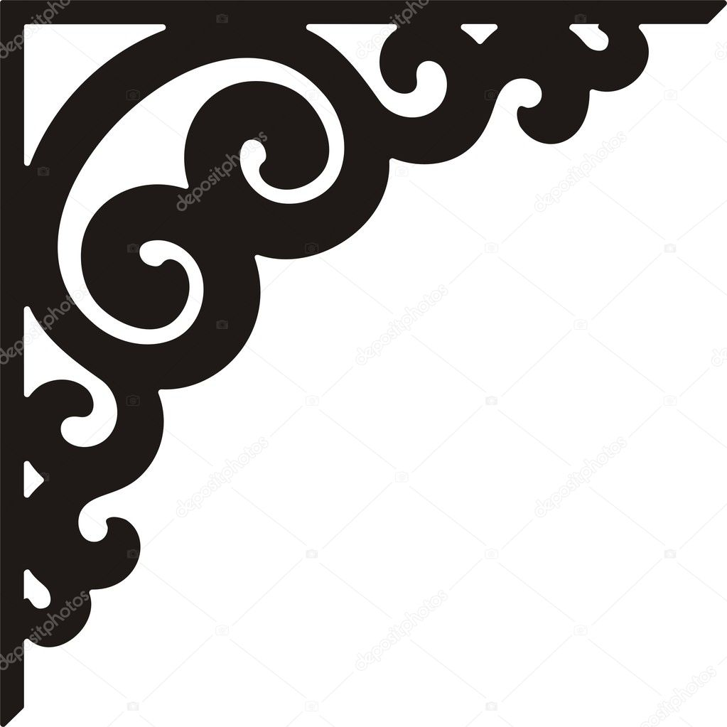 Elegant Corner Borders of Corner Border Design