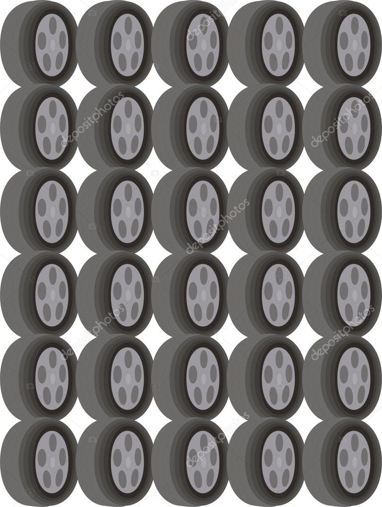 Vector Tires — Stock Vector #1529775
