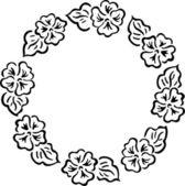 Vector Illustration Of Flower Design — Stock Vector