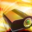 Stock Photo: Multimedia Projector