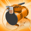 Stock Photo: Air Compressor