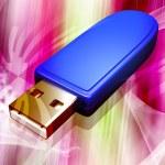 USB flash drive — Stock Photo #2230354