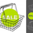 Royalty-Free Stock Vector Image: Supermarket basket
