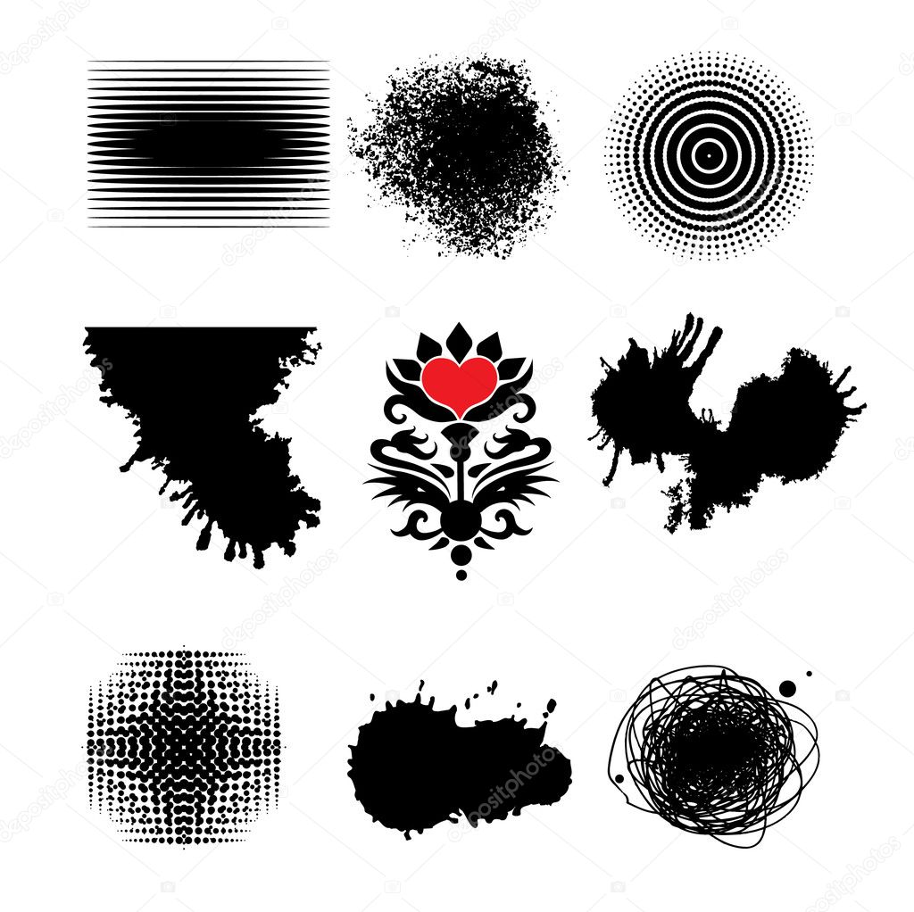 Vector graphic elements — Stock Vector #1685678