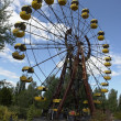 Постер, плакат: Ferris wheel in Pripyat near Chernobyl