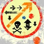 Grunge arrows — Stock Vector