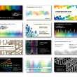 Business cards - Grafika wektorowa