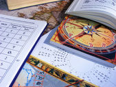 Astrology table — Stock Photo