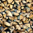Close-up of firewood — Stock Photo