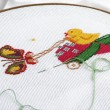 Cross-stitch — Stock Photo