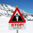 Skiing slope - Stockfoto