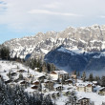 vintern i Alperna — Stockfoto