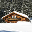 Winter holiday house — Stock Photo #1526570