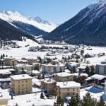 Winter in den Alpen — Stockfoto