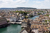 Zurich cityscape — Stock Photo