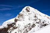 Eiger peak in the Jungfrau region — Stock Photo