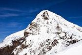 Eiger peak in the Jungfrau region — Stock Photo