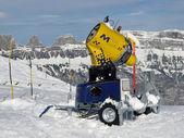 Snow-cannon — Stock Photo