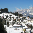 Alpine village — Stockfoto