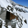 Jungfrau - top of the Europe - Stock Photo