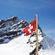 Stock Photo: Top of Jungfrau