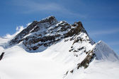 Jungfrau - top of the Europe — Stock Photo