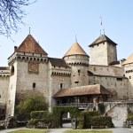 Chillon castle, Geneva lake, Switzerland — Stock Photo #1613371
