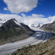 Aletsch glacier — Stock Photo #1613562