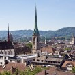 Zurich from the top — Stock Photo