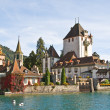 Oberhofen castle — Stock Photo