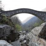 Ancient arch bridge — Stock Photo