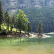 Seealpsee lake - Stock Photo