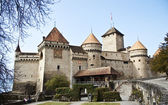 Chillon castle, Geneva lake, Switzerland — Stock Photo