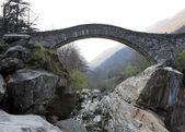 Ancient arch bridge — Fotografia Stock
